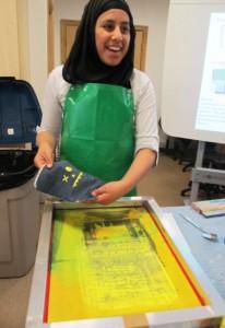 sam printing in class 2