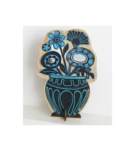 Sold Vase and Flowers