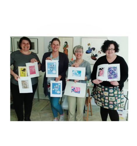 Introduction to soft cut lino printing coming soon