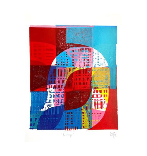 Loop Digital Print